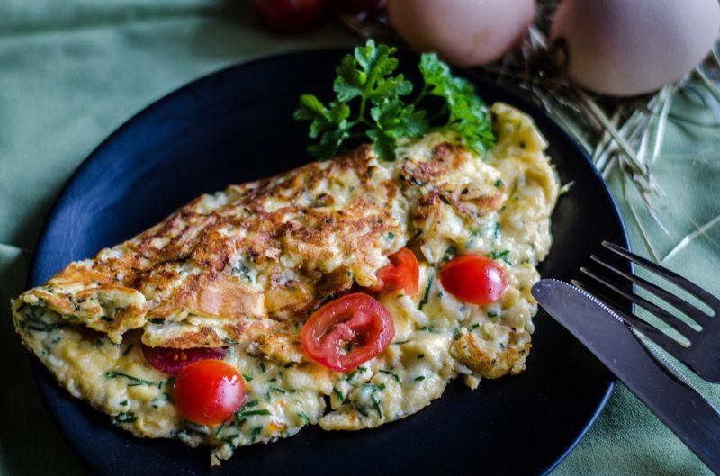 Omelett mit Tomaten von MyGreenKuh
